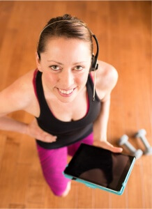 Online Live Instructors are here to get you ready and make you move
