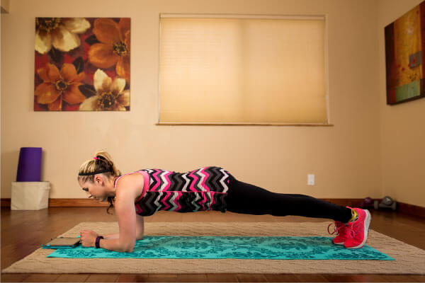 POP Pilates online fitness class at the VFit Studio