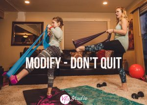 Modify - Don't Quit!