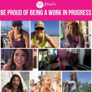 Be proud of being a work in progress