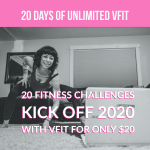 Kick off 2020 with unlimited VFit classes