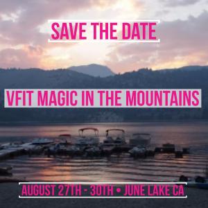 VFit Studio Retreat 2020 - Magic in the Mountains