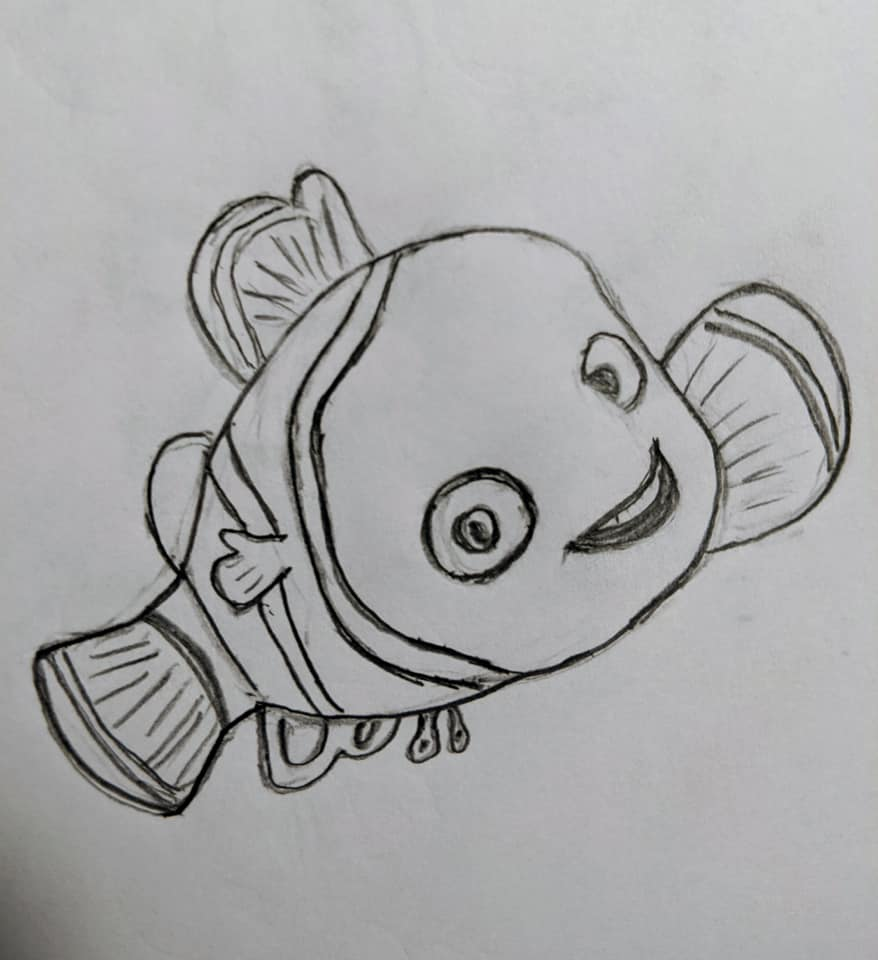 Drawing for Fun - Dory