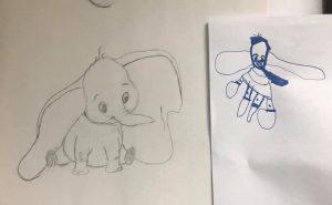 Drawing for Fun - Dumbo