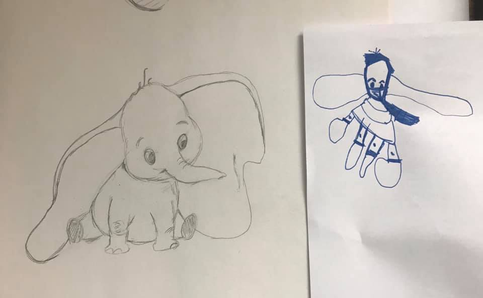 Drawing for Fun - Dumbo