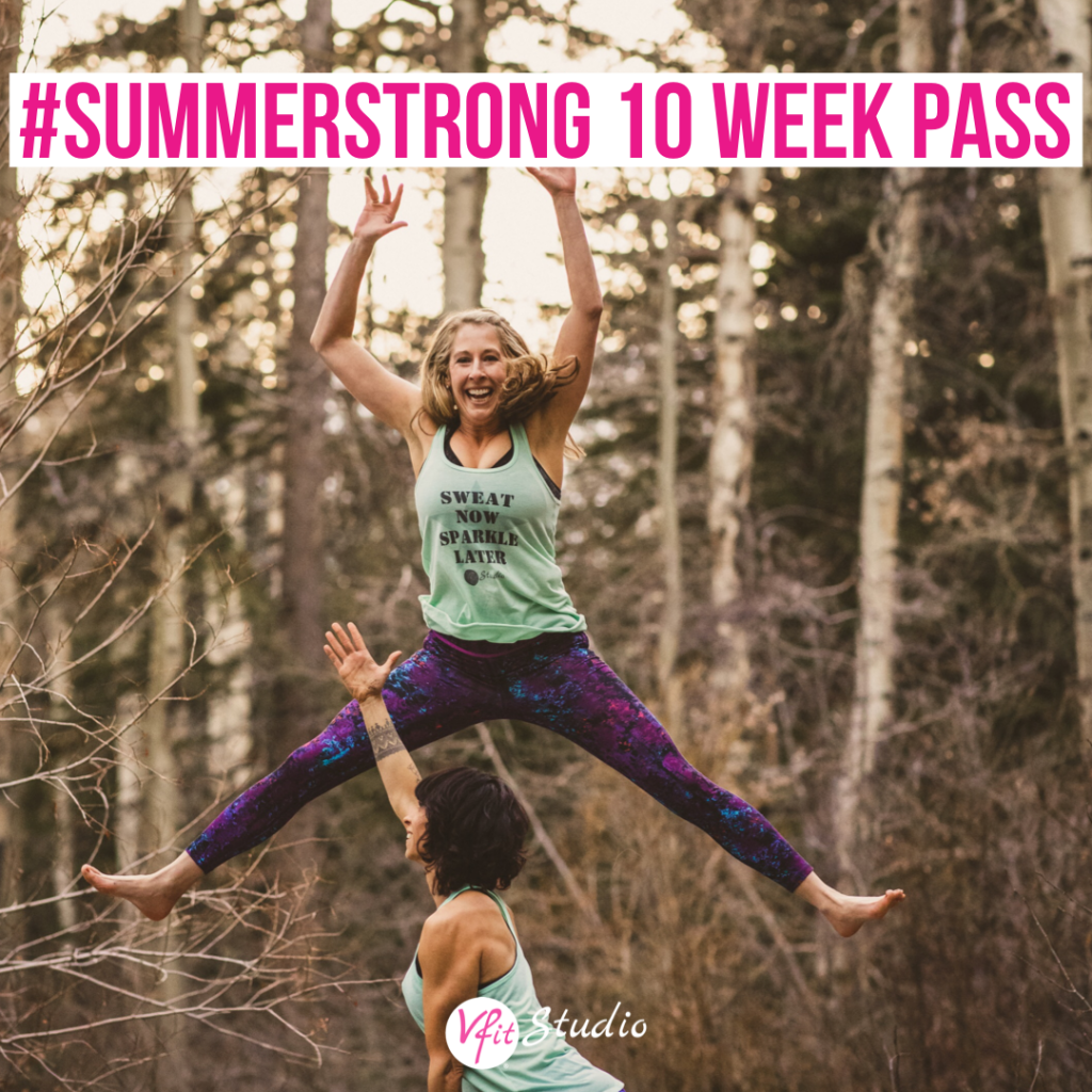 VFit Studio #SUMMERSTRONG Pass