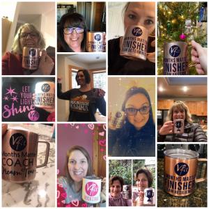 vfit team with mugs