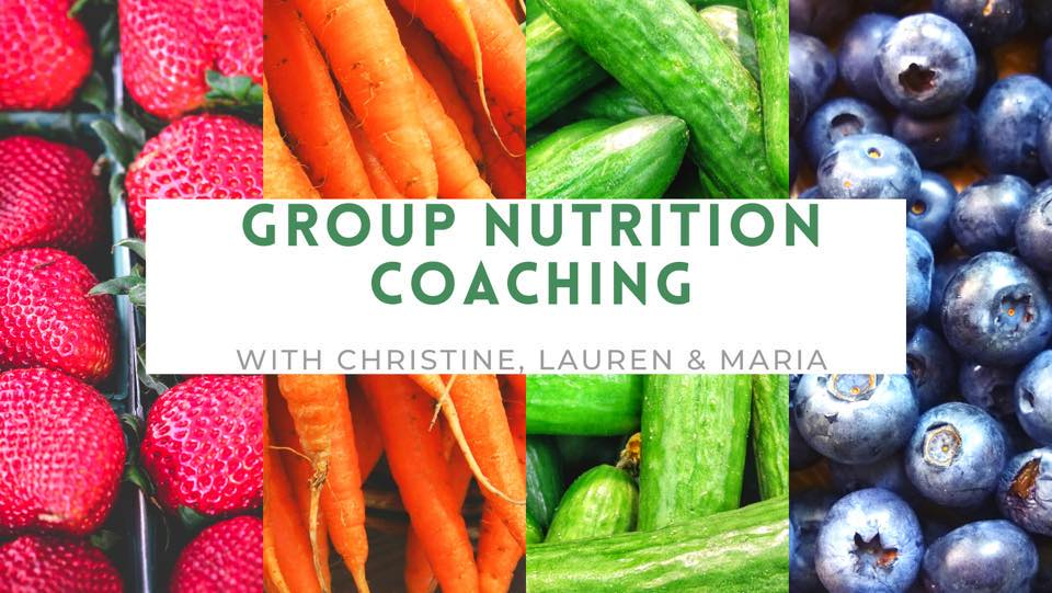 VFit Studio Group Nutrition Coaching with Christine, Lauren, and Maria